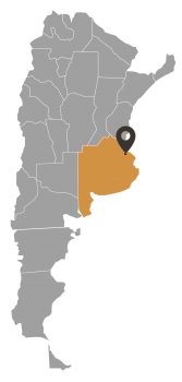 Mapa Arg_BuenosAires