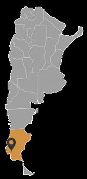 Mapa Arg_El calafate