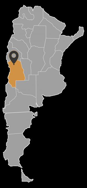 Mapa Arg_Mendoza